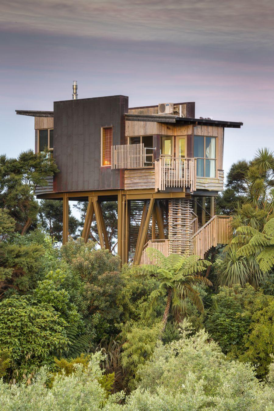 Hapuku Lodge And Tree Houses Kaikoura